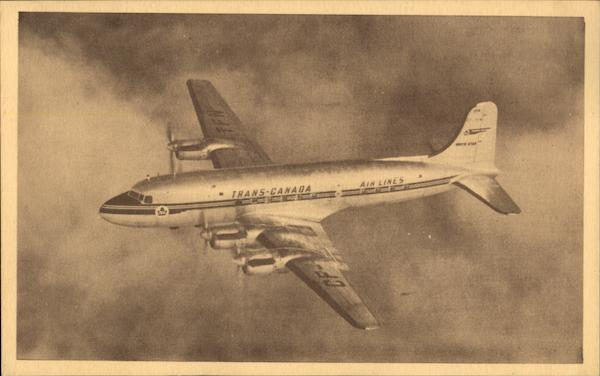 Modern Canadian Northstar Airliner, Trans-Canada Airlines