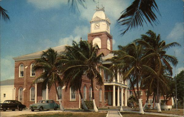 Monroe County Court House Key West Florida
