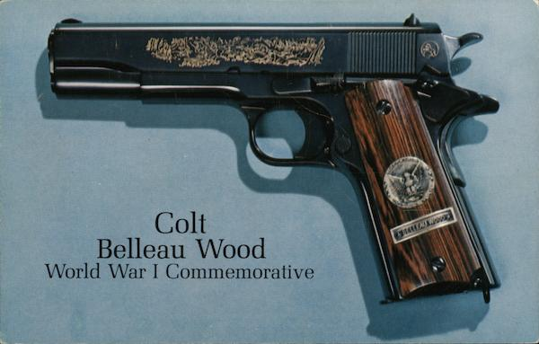Colt Belleau Wood, World War I Commemorative Advertising