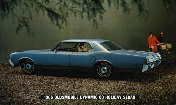 1966 Oldsmobile Dynamic 88 Holiday Sedan Cars