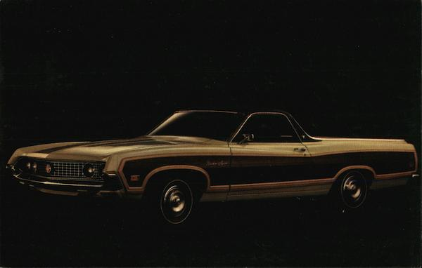 1970 Ford Ranchero Squire Cars