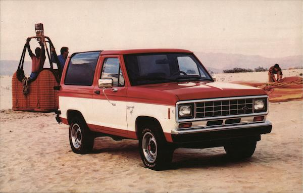 1986 Ford Bronco II Cars