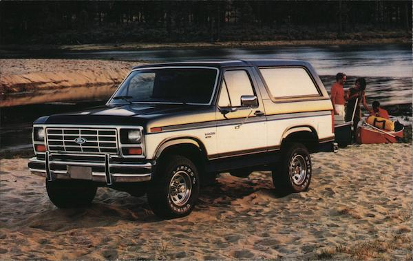 1986 Ford Bronco Cars