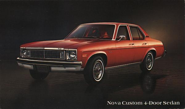 Nova Custom 4-Door Sedan Cars
