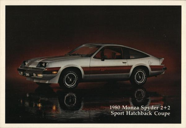 1980 Monza Sypder 2+2 Sport Hatchback Coupe Cars