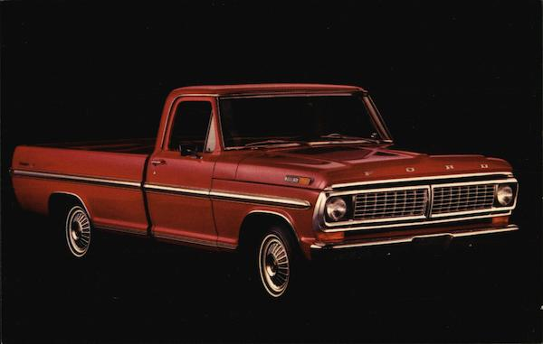 1970 Ford Ranger XLT Cars