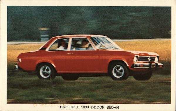1975 Opel 1900 2-Door Sedan Cars