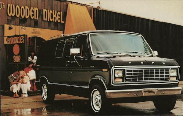 Ford Econoline - Out Front in Van Design - 1980 Cars