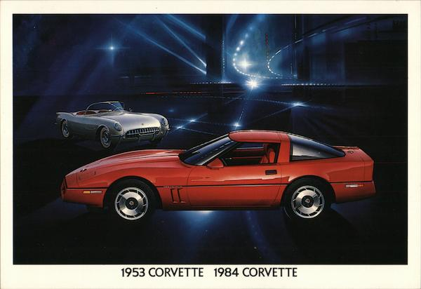 1953 Corvette / 1984 Corvette Chevrolet Cars