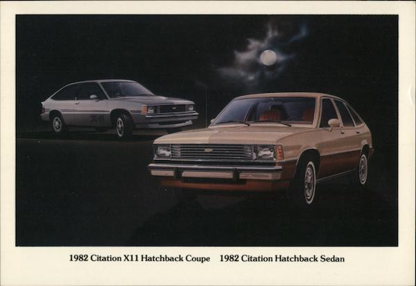 1982 Chevrolet Citation Cars