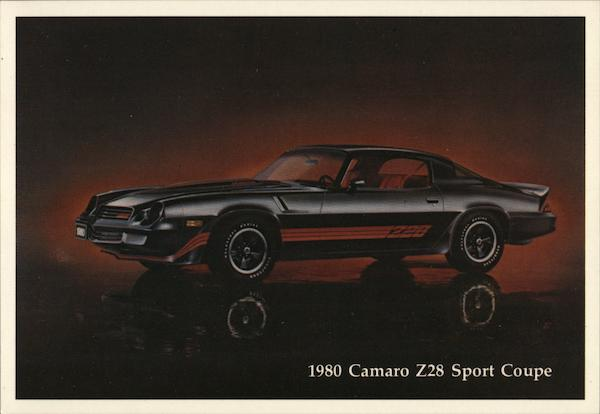 1980 Camero Z28 Sport Coupe Cars