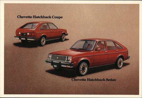 Chevette Hatchback Coupe and Sedan Cars