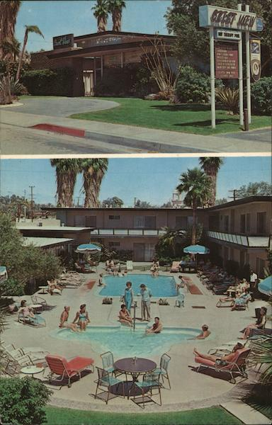 Crest View Hotel Palm Springs California