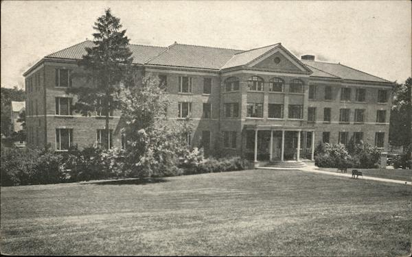 Front View - Main Building, O.E.S. Home and Infirmary Oriskany New York