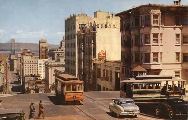 San Francisco's Cable Cars California