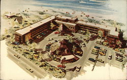 The Polynesian Condominium Apartment Motel Postcard