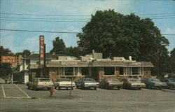 The Milford Diner - Open since 1928 Postcard