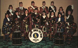 The only junior pipe band in New Brunswick - Kiwanis Club