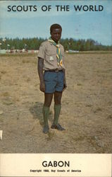 Gabon, Scouts of the World