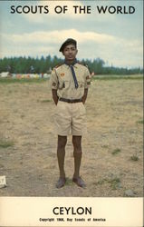 Scouts of the World, Ceylon