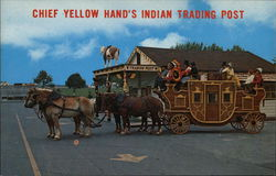 Chief Yellow Hand's Indian Trading Post Postcard