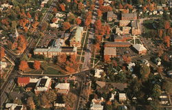 Aerial View of The Downtown Campus