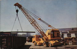 Gar Wood 75BT 20-Ton Truck Crane, Gar Wood Industries, Findlay Division