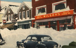 Wilson's Dollar Stores - Blizzard of Feb. 18, 19, 1952