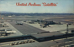 "United Airlines ""Satellite"" Los Angeles International Airport"