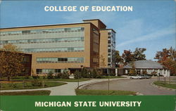 Michigan State University, College of Education and Kiva Building