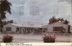 Hollywood ColonialMotel - 700 S. Federal Highway