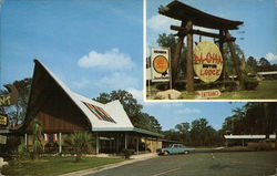Aloha Motor Lodge, Route #1 - 301 & 23 on St. Marys River at Ga.-Fla. State Line