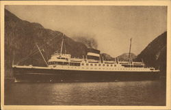 Unknown Steamer Ship
