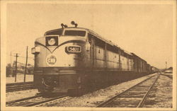 Diesel Electric Locomotive Made in Canada - Canandian National Railways