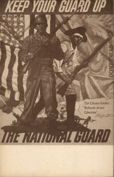 Keep Your Guard Up - The National Guard (Reproduction of a Poster Frank Reilly)