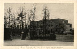 Lee County Hospital and Nurses Home