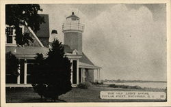 The Old Light House, Poplar Point