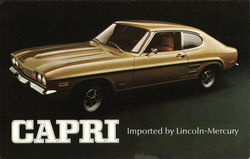 Capri Imported by Lincoln-Mercury