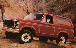 Ford Bronco - America's most advanced family 4-wheeler - Built Ford Tough