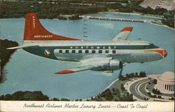 Northwest Airlines Martin Luxury Liners - Coast to Coast