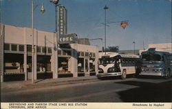 Greyhound and Parrish Stage Lines Bus Station