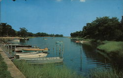 Boating Paradise Postcard