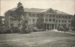 Front View - Main Building, O.E.S. Home and Infirmary