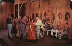 Old time square dancing at the Renfro Valley, Kentucky Barn Dance