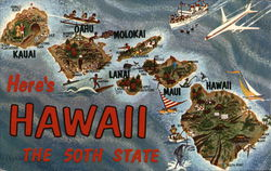 Here's Hawaii The 50th State