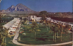 Arizona Biltmore Hotel Swimming Pool and Cabanas