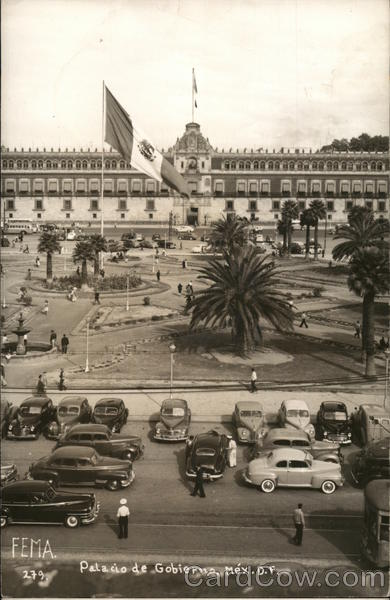 Street View of the National Palace in Mexico