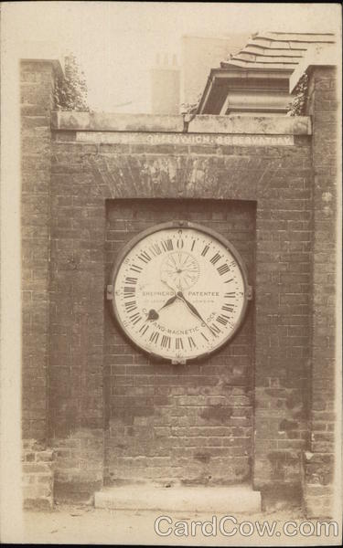 Shepherd Gate Clock at Royal Greenwich Observatory London England