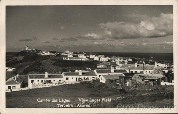 Campo das Lages - View Lages Field - Terceira - Acores Portugal