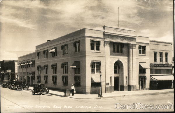 First National Bank Building Loveland Colorado